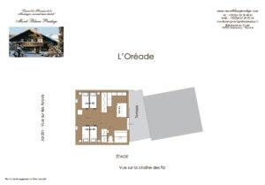 L OREADE etage page 300x209 - Chalet L'Oréade