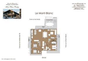 LE MONT BLANC etage 300x209 - Chalet Mont Blanc