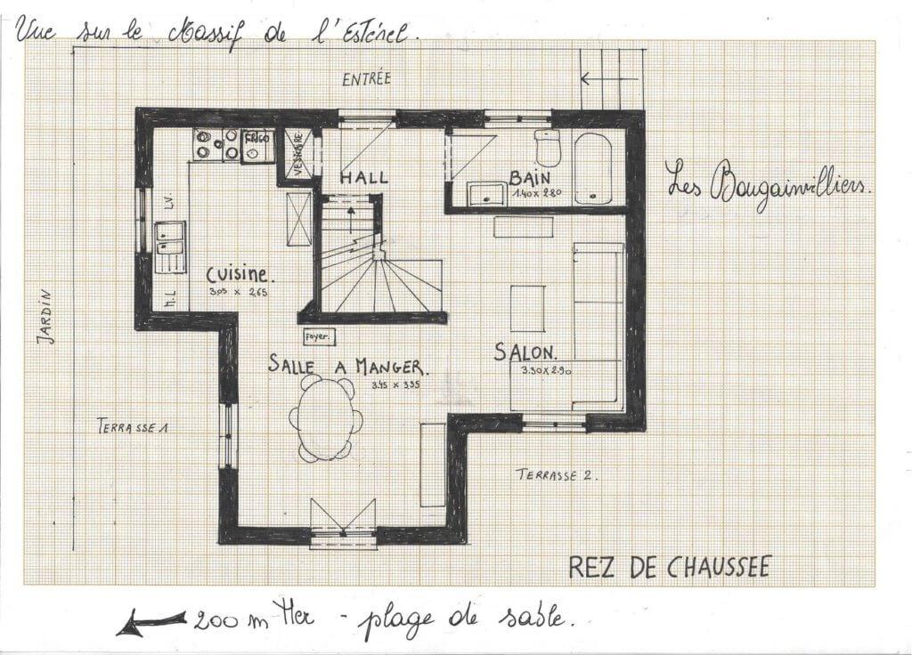 Plan Villa Les Bougainnvilliers page 001 1024x736 - Villa les Bougainvilliers
